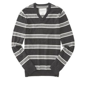 Aeropostale | Striped Knit Sweater | V Neck